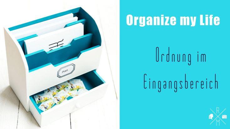 Organize my Life   Organisierter Eingangsbereich (Family Command Center)