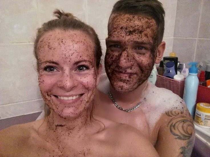 Couples that scrub together, stay together!