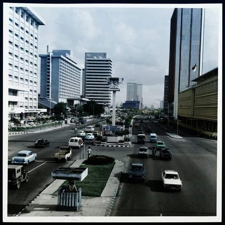 Jl. Thamrin, Jakarta 1970an