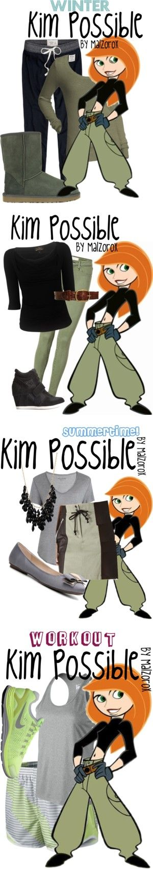 """Kim Possible Collection"" by malzorox on Polyvore"