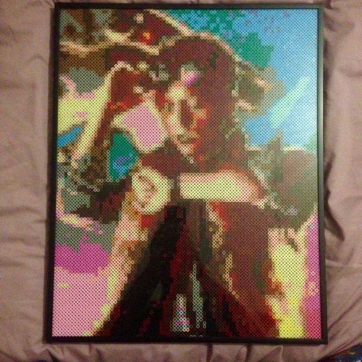 Comment pixeliser une photo pour en faire un tableau de perle Hama ?  D4633eb0669d6b269c4bf7b68be76a2e--back-to-the-future-bead-art