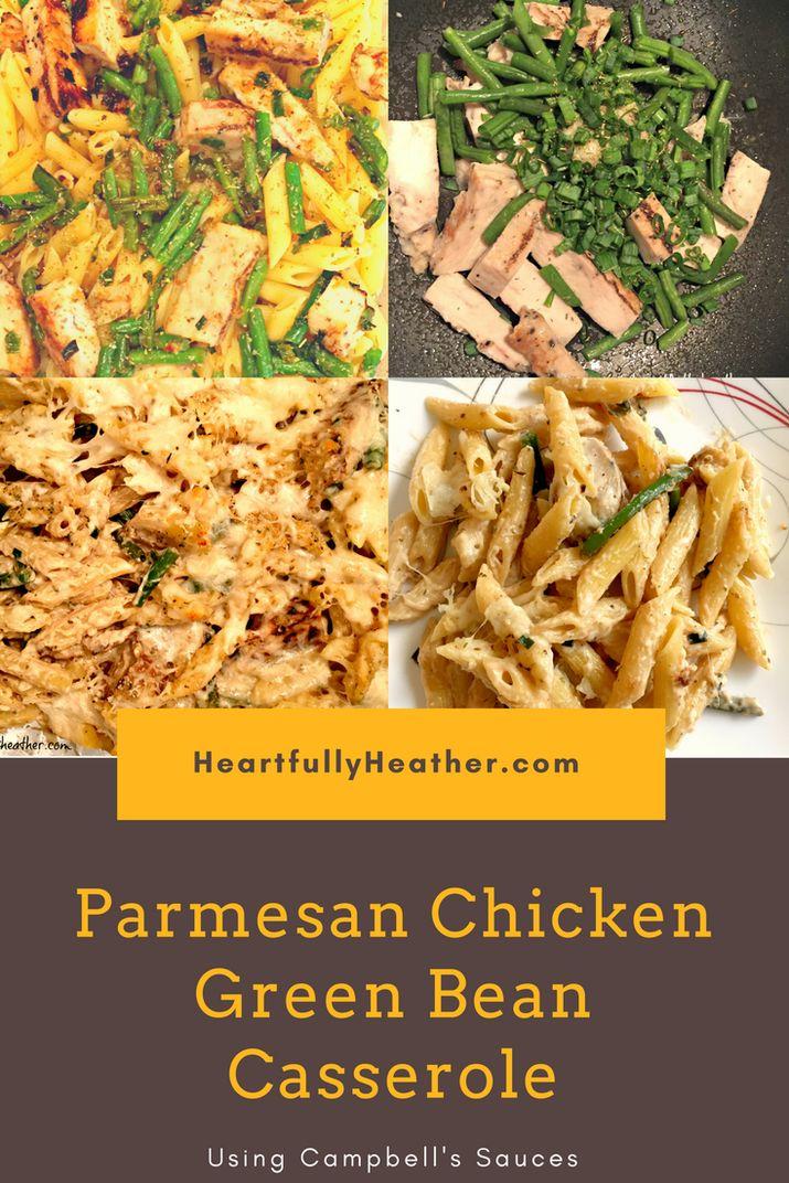 Easy Casserole Ideas: Parmesan Chicken Green Bean Casserole