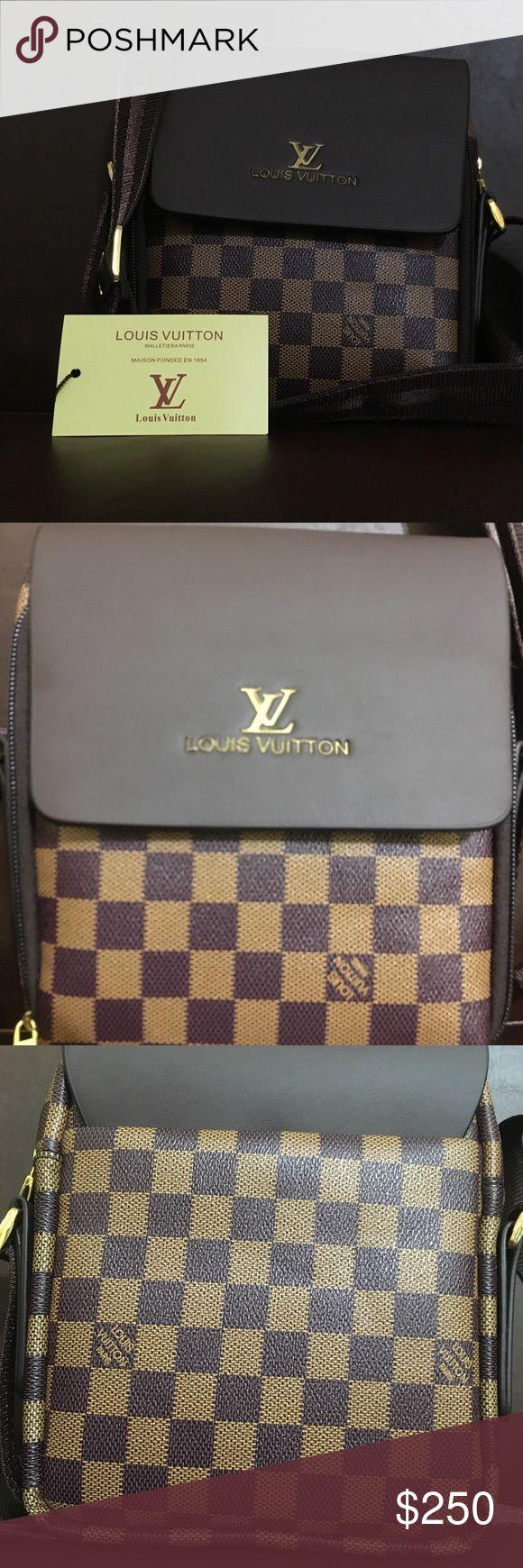 Louis vuitton messenger bag OPEN FOR OFFERS Small brown shoulder bag (unisex) Louis Vuitton Bags Messenger Bags