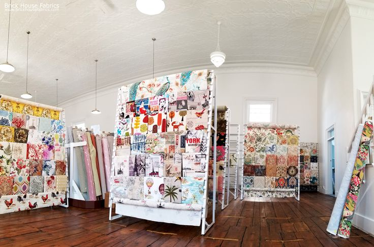 """We're all moved into our new space in Brunswick, Maine!  Locals can once again order online and select """"In Store Pickup"""" when checking out!  We're not fully setup for in store browsing yet, but we MAY have some limited shop hours next week: so stay tuned!   #fabric #fabricstore #store #brunswick #maine #brunswickmaine #church #renovation #renovations #rehab #remodel #interior #design #interiordesign #oldbuilding #home #decor #decorating #homedecor #homedec"""