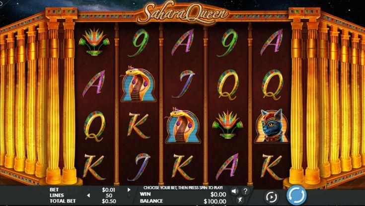 Sahara Queen - http://www.777free-slots.com/sahara-queen-free-online-slot/