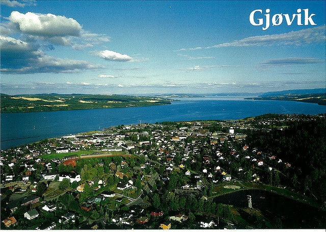 Gjovik, I lived there until 1968.  Many good memories from there.