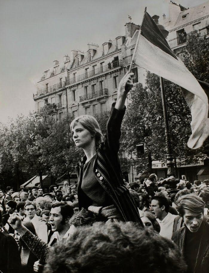 Jean-Pierre Rey - La Marianne de Mai 68, Francia, 1968.