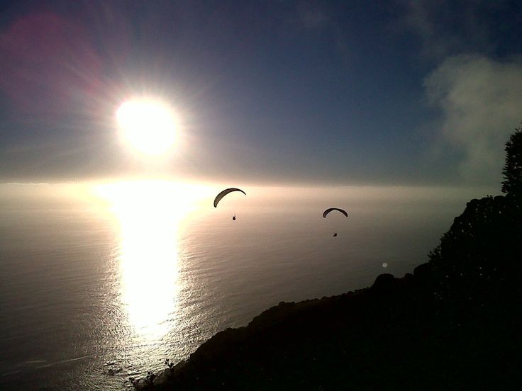 gliding through the air in #CapeTown