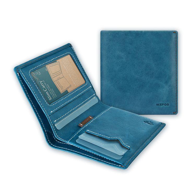 01 Slim Carry Wallet _ Navy Blue