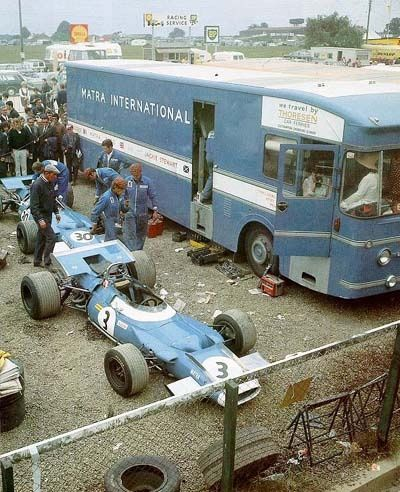 Matra International - 1969 #3 Jackie Stewart - Matra MS80 - fix your F1 car out in the dirt. Just race.