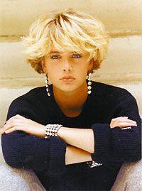 dessange carré : moi je dis oui au retour de la coiffure année 80 quand c'est celle là !