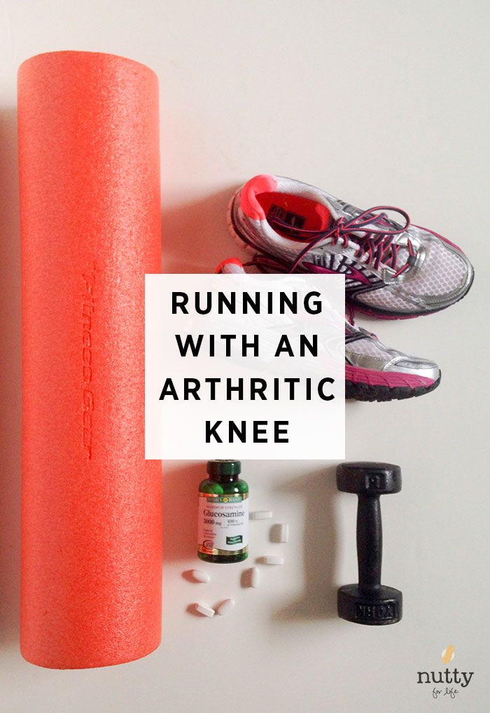 How to run with an arthritic knee & the best ways to take care of your joints, from someone who has arthritis. #running