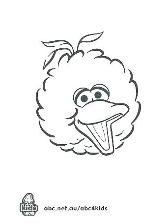 big bird coloring pages big bird coloring pages this is big bird ...
