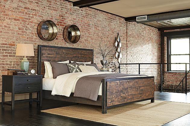 Rubbed black wesling nightstand view 4 bedroom pinterest nightstands for Ashley furniture black bedroom set