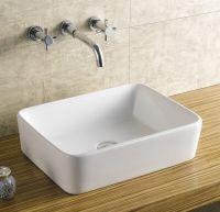 "Ceramic Vessel Sink 19"" Rectangle #007"