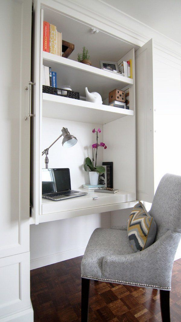 25 great ideas about computer armoire on pinterest for Home office furniture arrangement ideas