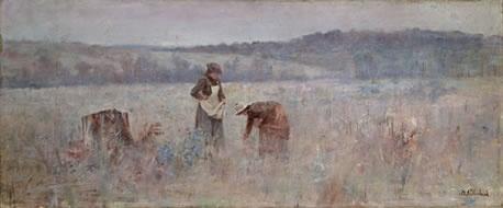 Image: Jane Sutherland, The mushroom gatherers (c.1895)