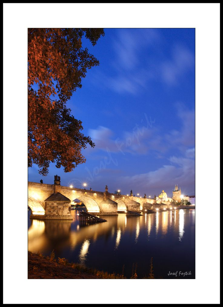 Fotoobraz - Karlův most, Praha, Česko. Foto: Josef Fojtík - www.fotoobrazarna.cz