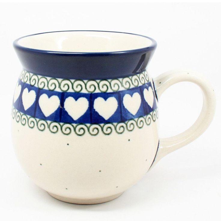 Gentlemens Bubble Mug #375. Polish PotteryKitchen ...