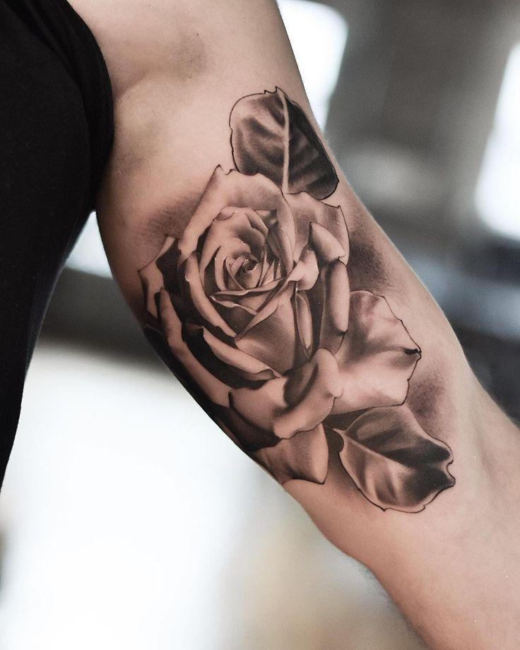 многие тату роза элегантные фото помечены экспериментальные