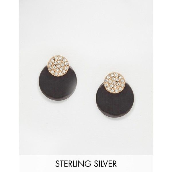 Pilgrim Silver Sparkle Through & Thorugh Earrings ($34) ❤ liked on Polyvore featuring jewelry, earrings, haematite, silver jewellery, pilgrim earrings, silver bullet jewelry, pilgrim jewellery and diamante jewelry