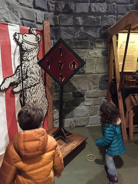 Dublin attractions for families: playing medieval games