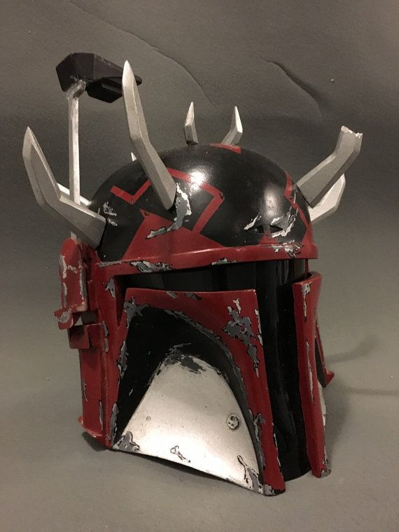 Darth mutilar casco Mandaloriano por TheIronForge en Etsy