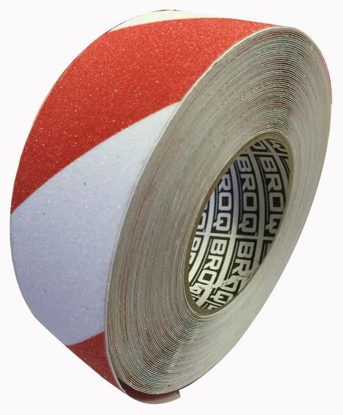 Buy Anti Slip Tape Red/White 50mm x 20m Online at Factory Direct Prices w/FAST, Insured, Australia-Wide Shipping. Visit our Website or Phone 08-9477-3441