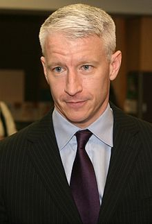 Anderson Hays Cooper (born June 3, 1967) is an American journalist, author, and television personality. He is the primary anchor of the CNN news show Anderson Cooper 360°. The program is normally broadcast live from a New York City studio; however, Cooper often broadcasts live on location for breaking news stories. As of September 2011, he also serves as host of his own eponymous syndicated daytime talk show, Anderson.