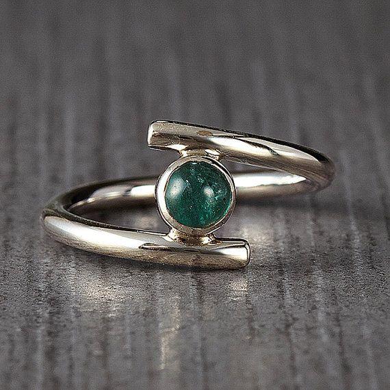 Tourmaline Ring - Jewelry - Gemstone ring - Single gemstone ring - November birthstone - Anniversary ring
