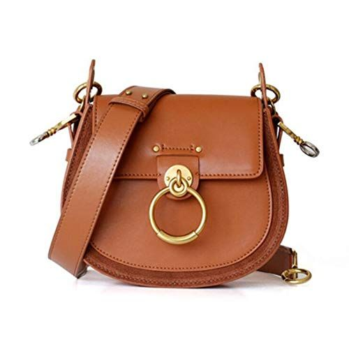 a3304c439837 Beautiful ACTLURE Women O Loop Small Leather Saddle Shaped crossbody  Handbag Purse Women Bag.   99.99  topbrandsclothing from top store