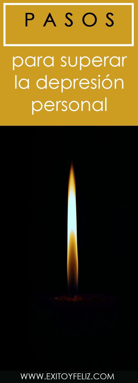 8 pasos para superar la depresión personal   #triste #suicidal #esperanza