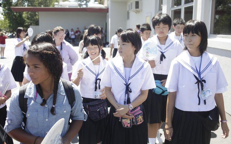 Japanese Middle School Girls  School Uniforms  Japanese -4540
