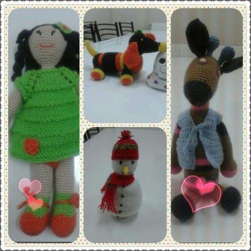 Amugurumi toys
