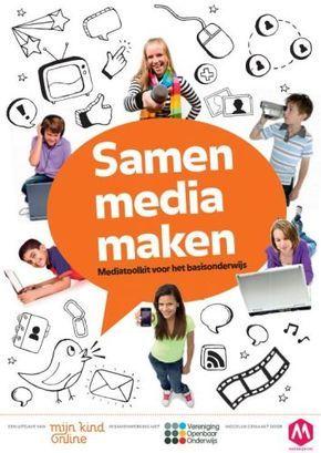 """Samen media maken - Het gratis te downloaden boekje """"Samen media maken"""" is een complete 'handleiding' om het project op te zetten. Alles wat je ervoor nodig hebt, vind je in dit boekje. Je zou het kunnen gebruiken om bijvoorbeeld een actueel schoolproject rond sociale media en/of mediawijsheid op jouw school te organiseren voor de midden- en bovenbouw. Wil je meer informatie over dit ICT-project, dan moet je zeker het boekje online lezen of gewoon downloaden."""