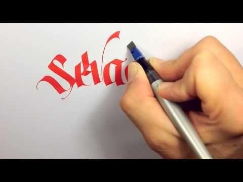 Mindcrack Calligraphy - Sevadus - YouTube