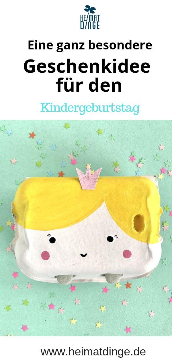 """SCHATZTRUHE """"Froilein Prinzessin"""" aus Eierkarton *** ein ganz besonderes, zauberhaftes GESCHENK für deine Prinzessinnen Party – heimatdinge"""