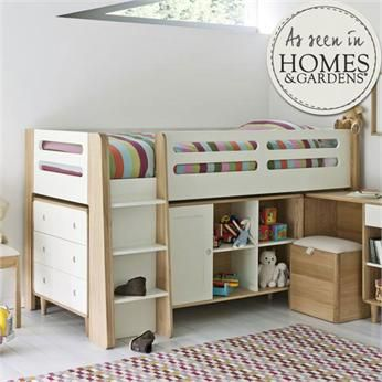 Archie Cabin Bed | Feather & Black