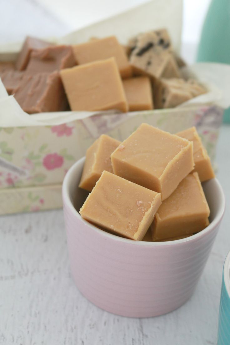 Salted Caramel Thermomix Fudge