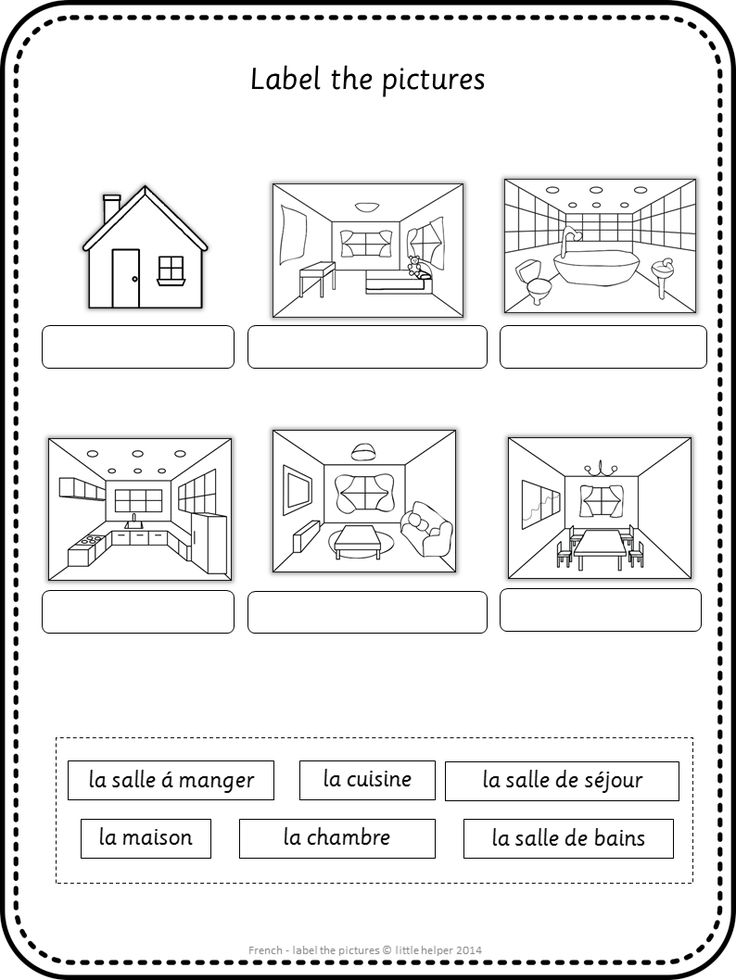 Label the picture worksheets. Great vocabulary practice for your French lessons. This set covers all major topics in French; from adjectives to weather.