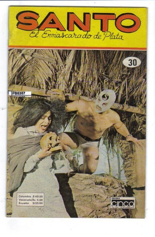 Santo El Enmascarado de Plata la Fotonovela