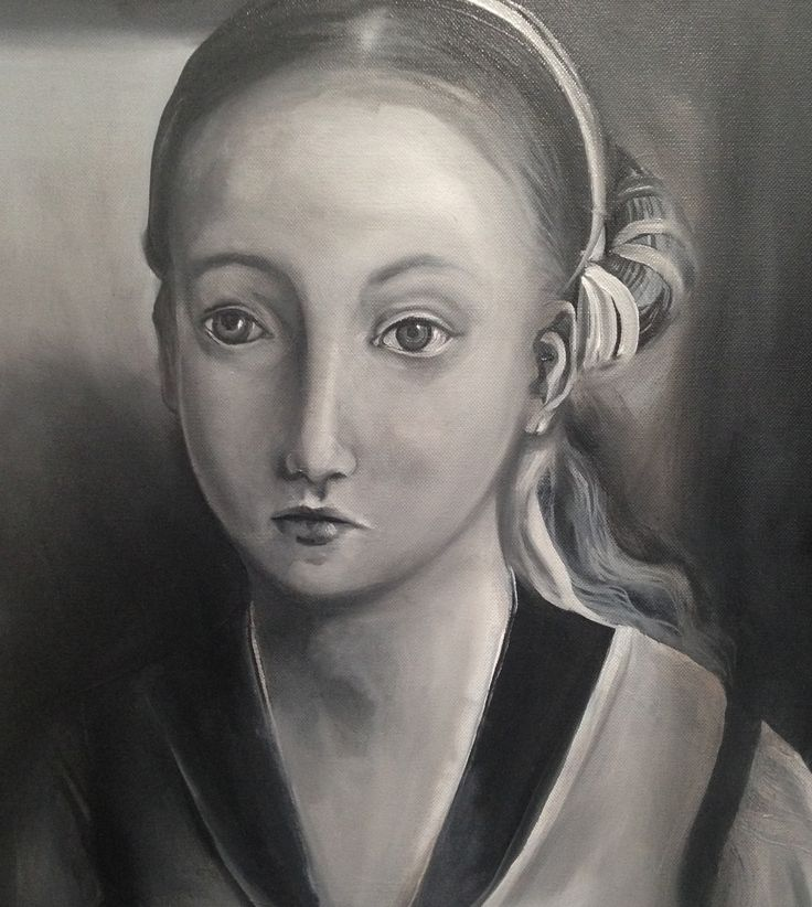 Study of La Infanta (after Juan de Flanders) - WIP