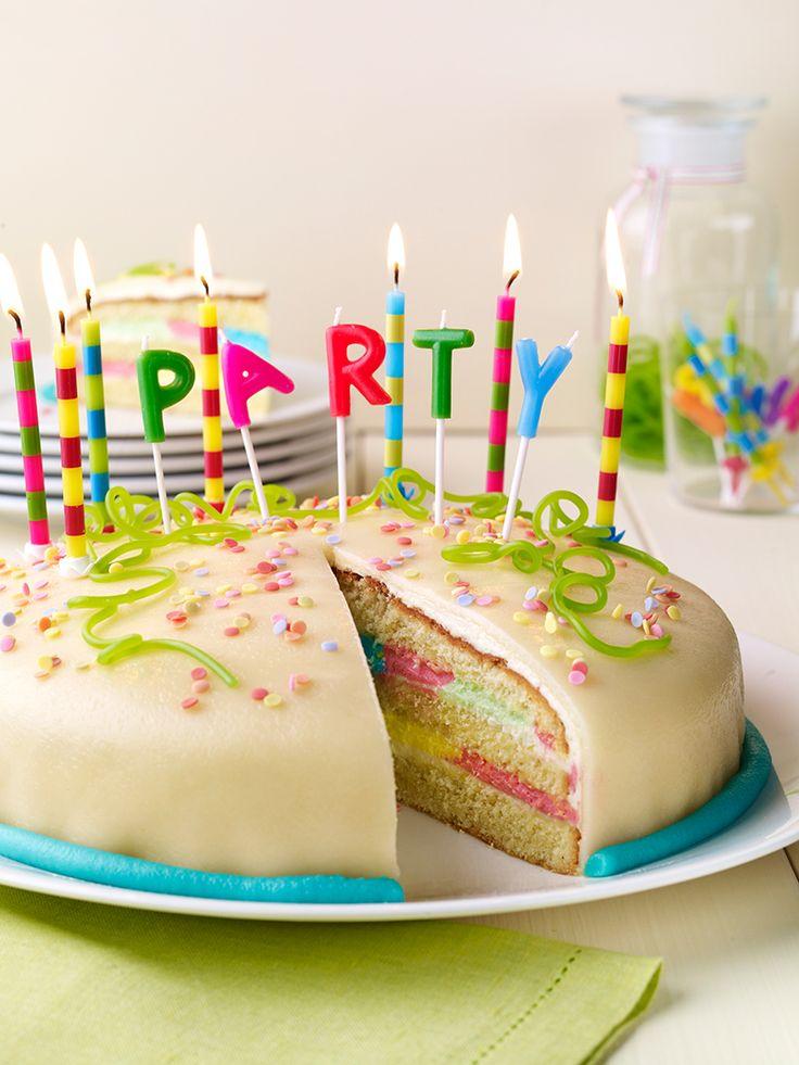 Vanilla-Party-Torte - Eine leckere Buttercremetorte für die nächste Party