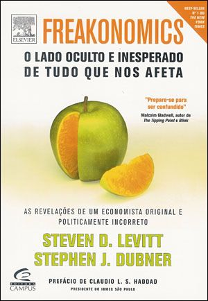 Freakonomics is a mind stretching experience.  Smart, insightful and great alternative thinking.  I have read it a couple of times so I could hold to more of it.  Also a great site with more follow up content.