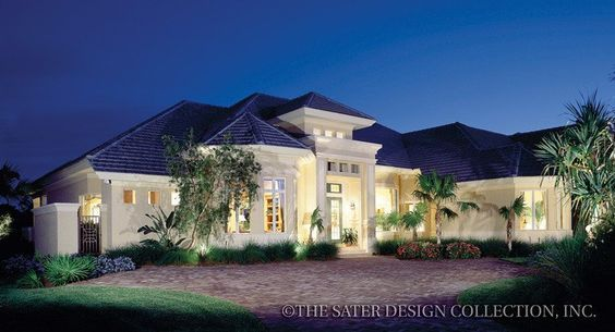 St Regis Grand House Plan | Mediterranean homes ...