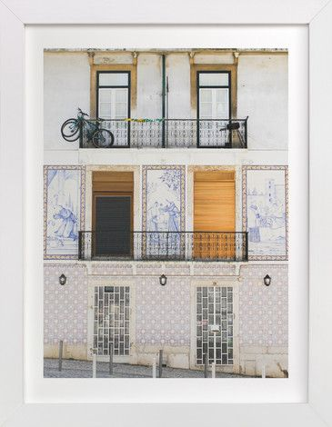 Tiles of Portugal by Annie Montgomery at minted.com