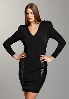 flattering full figure dress
