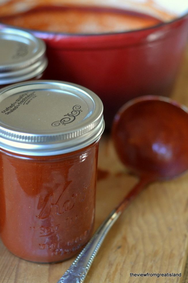 DIY Red Chile Sauce:  An authentic sauce that is itself the starting point for an endless list of traditional dishes, like enchiladas, tamales, chili, huevos rancheros… from Meagan Micozzi's cookbook The New Southwest | The View from Great Island