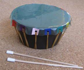 植木鉢太鼓 作り方9