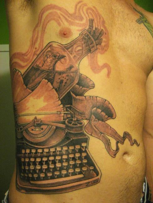 Tattoo Bluebird Happiness